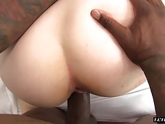Petite White Teen Gets Stretched By A Big Black Cock